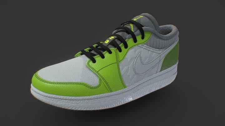 Nike Air Jordan 6Low Custom 3D Model