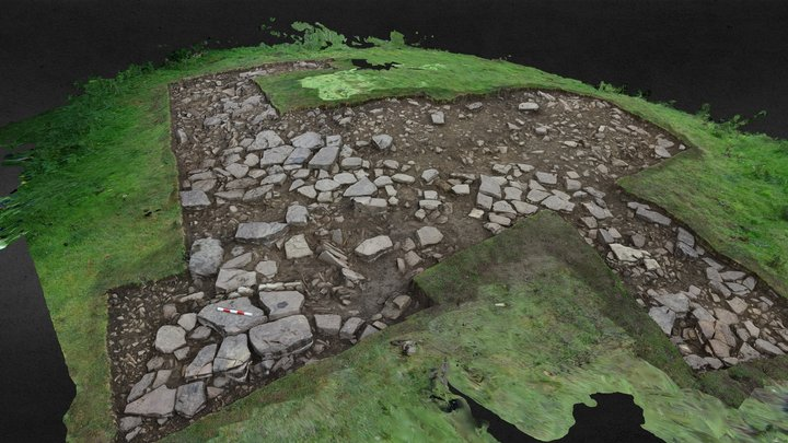SWAAG HFS19 Excavation Area 4 3D Model