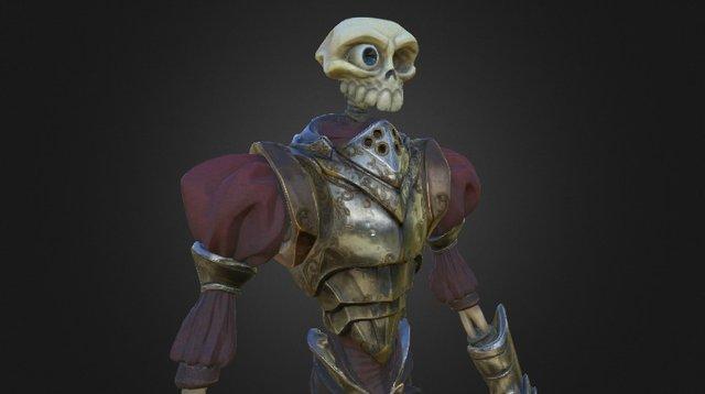 Sir Daniel work in progress 3D Model