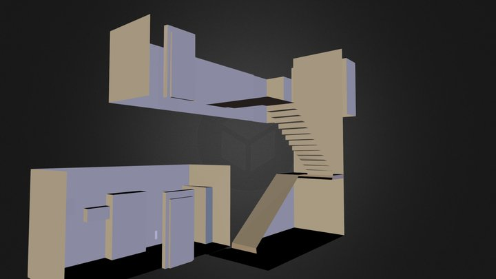 office entry 2.3ds 3D Model