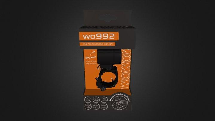 Wo992 Packaging 3D Model