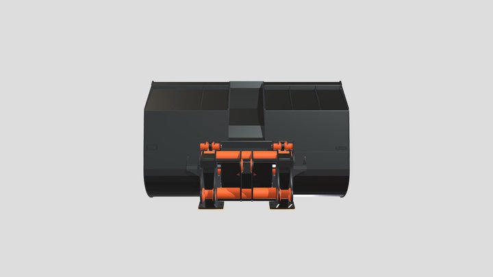 3. Heavy Duty High Dump 3D Model