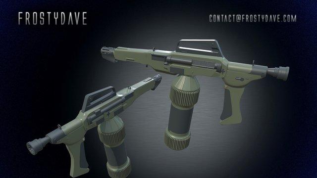 Flamethrower Crit 3 3D Model