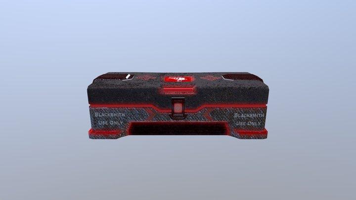 Crate V2 3D Model