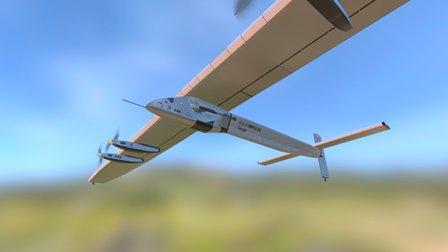 Solar Impulse Si2 3D Model