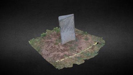 Jargalant/Khövsgöl (MNG) - Deer stone 6 3D Model
