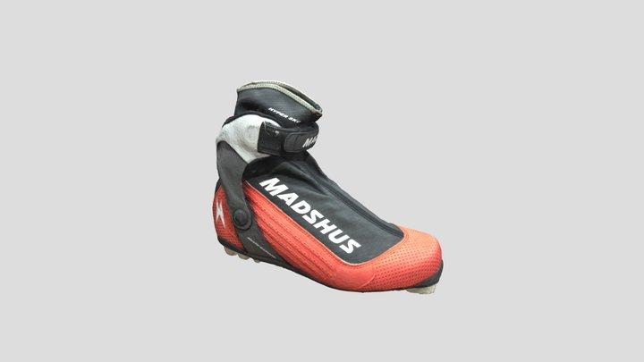 Hannu Manninen's Skiing Boot 3D Model