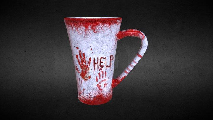 Horror Cup 3D Model