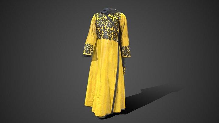 Dubai Dress 3D Model