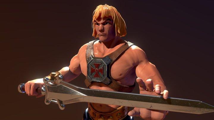 He-Man Bust 3D Model