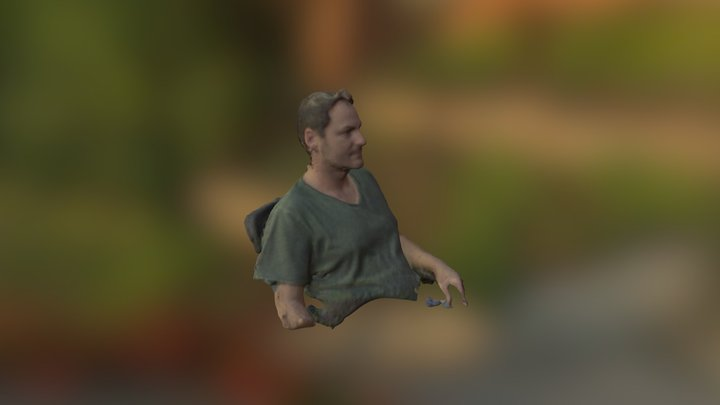Jerry Scan 3D Model