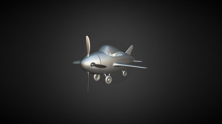 Plane3 3D Model
