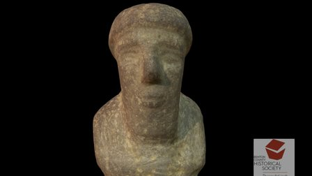 Stone Figure, Iraq, BCE 3D Model