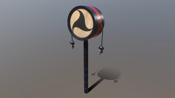 Den-den daiko - The Terror 3D Model