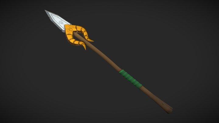 DS Asset03 Viking Spear 3D Model