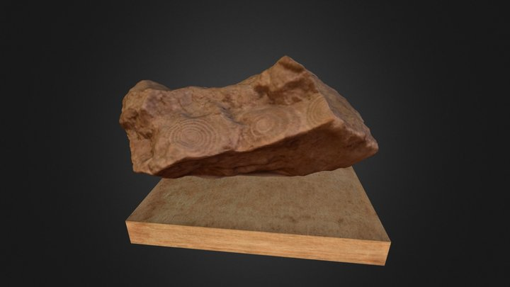 Fossil Stone 3D Model