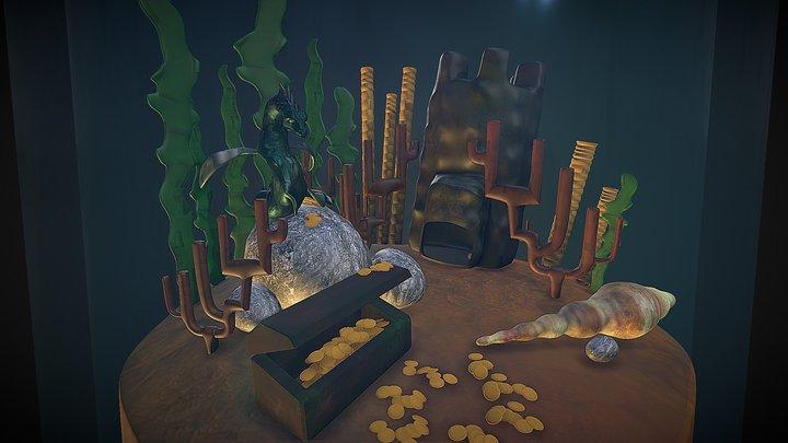 The Last Dragon Aquarium 3D Model