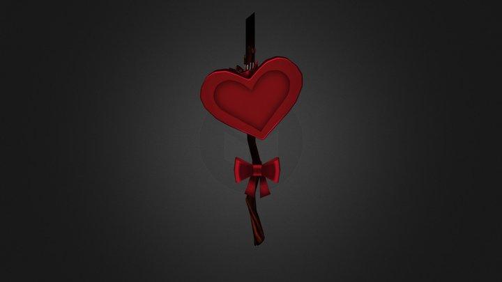 Valentine stick 3D Model