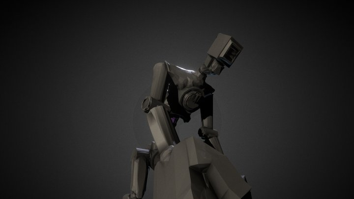 Competitor Bot 007 3D Model