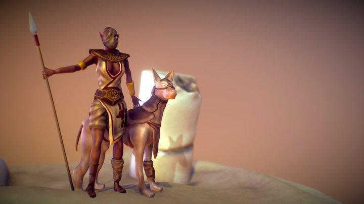 Final Scene 3D Model