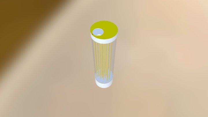 Poppy Canister 3D Model