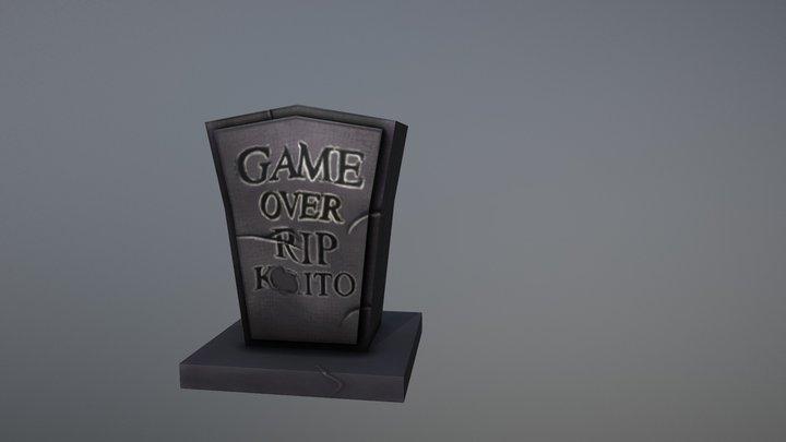 Tombstone 3D Model