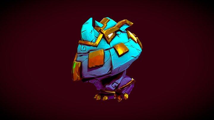 Antegods: Rhino Mech 3D Model