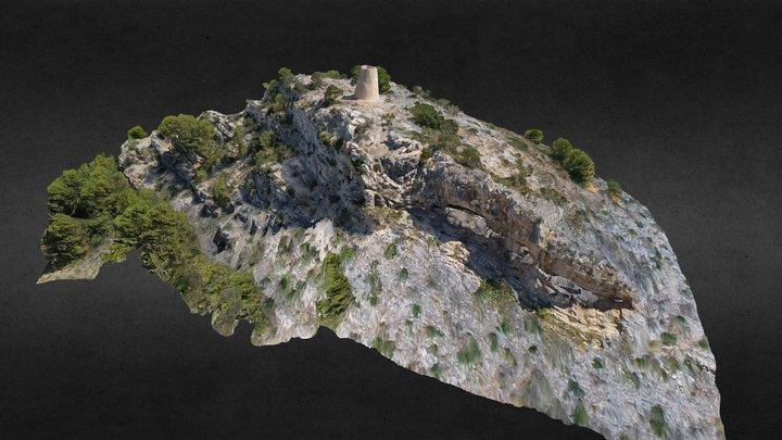 Torre Nova des Cap Vermell - Mallorca Spanien 3D Model