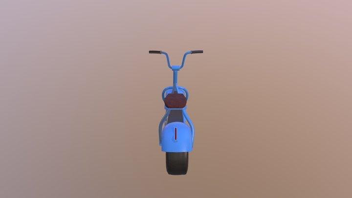 Scooter Paint 3D Model