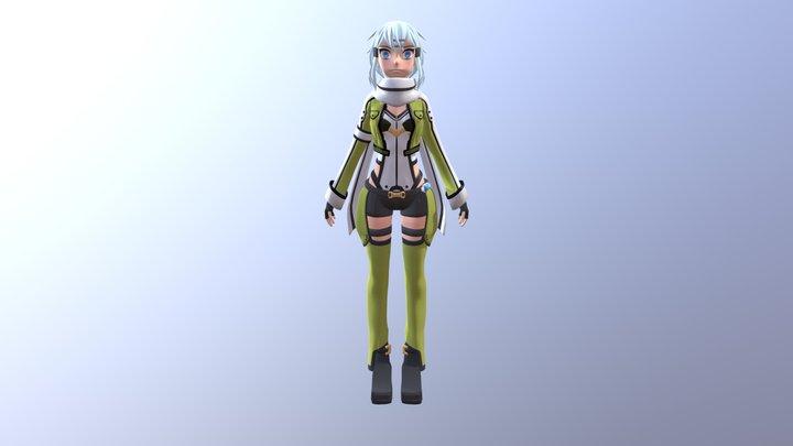 Sinon SAO 3D Model