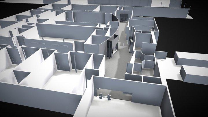 Studio Display Window Composite 3D Model