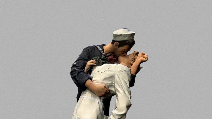 Embracing peace 3D Model