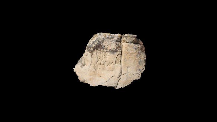 William Cody inscription (5BL5451) 3D Model