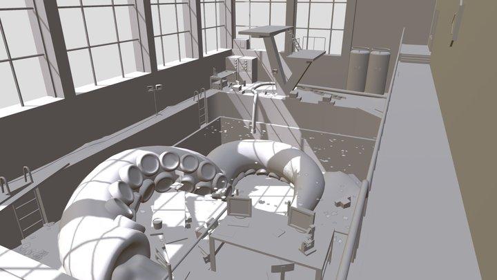 Laboratory Azure 3D Model