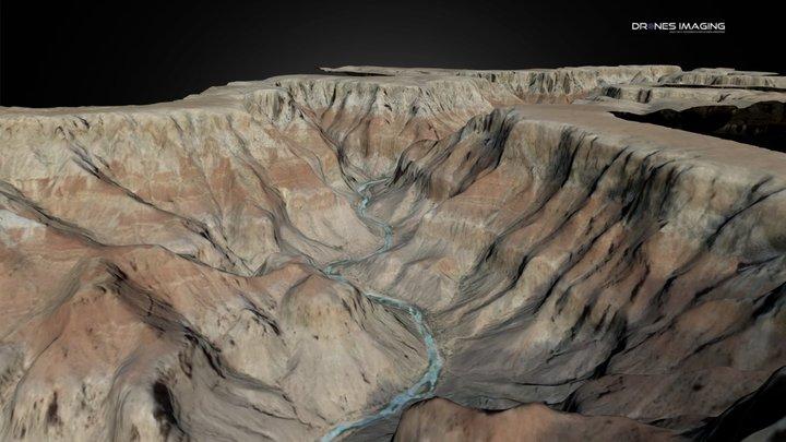 Grand Canyon, Arizona - USA 3D Model