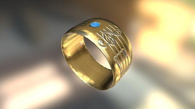 Wedding Ring 3D Model