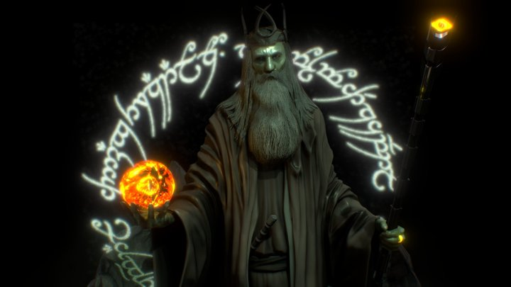 If Gandalf took the ring... 3D Model