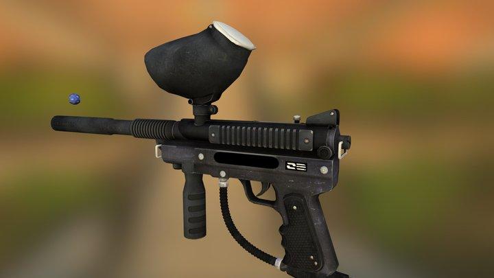 Dice Gun 3D Model