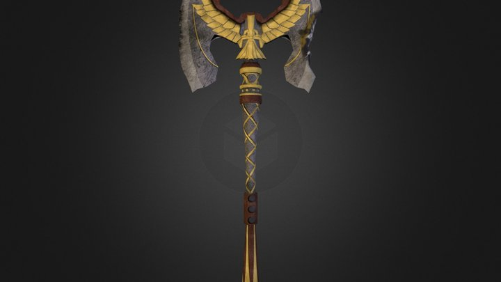 And My Axe 3D Model