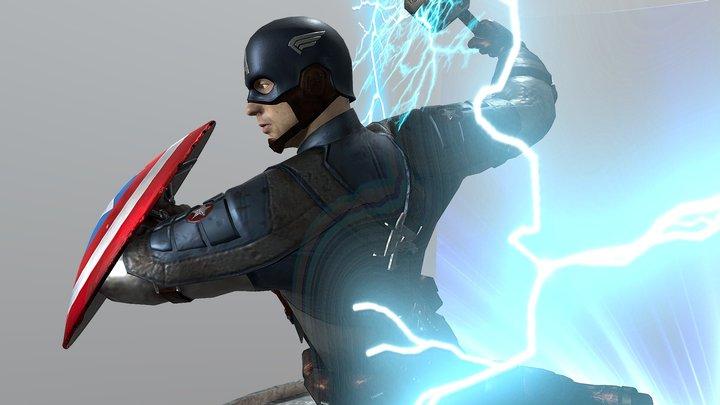 Avengers - Endgame 3D Model