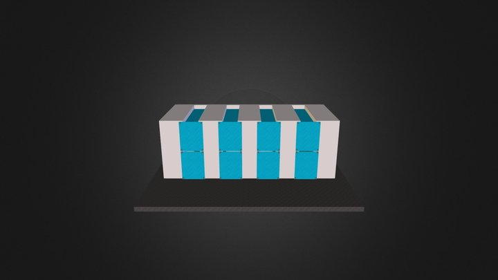 Booth Design 2 3D Model