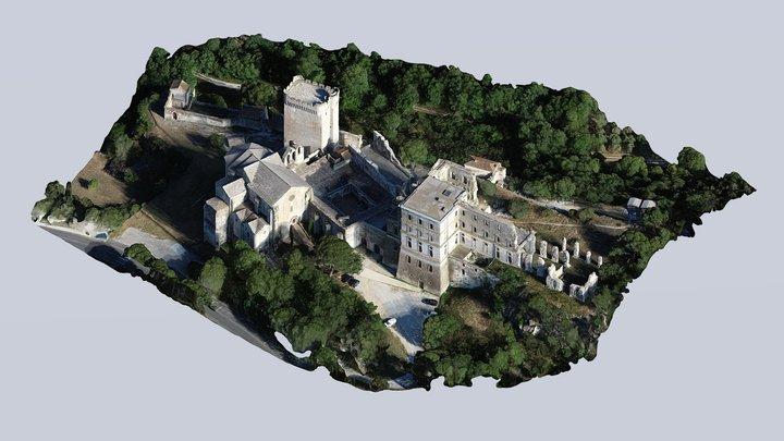 Abbaye de Montmajour 3D Model