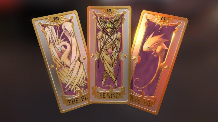 Clow Cards 03 3D Model