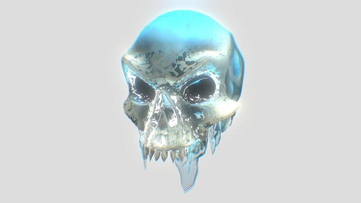 Collectible Skull #0004 iceskull 3D Model