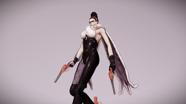 Bayonetta - Bayonetta (early Concept Art Skin) 3D Model