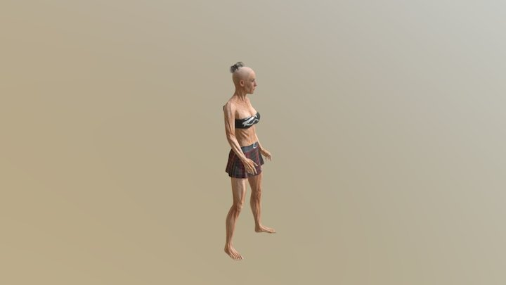 Trixy Dance 3D Model