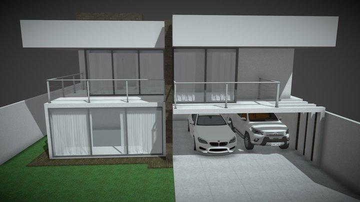Projeto autoral - Residência alto padrão SA1 3D Model
