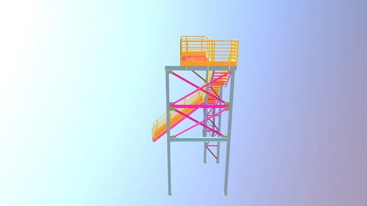 SUBESTAÇÃO SE01 PESO APROXIMADO 4 ton. 3D Model