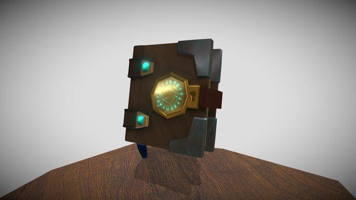 Spellbook final project firstyear 3D Model