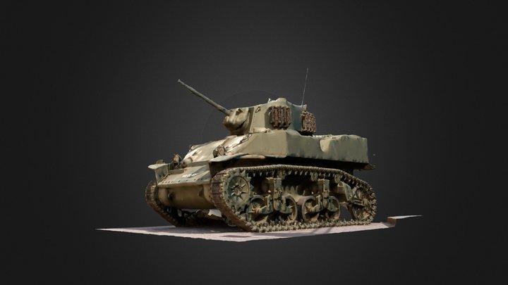 Tanque de Guerra, Elvas 3D Model